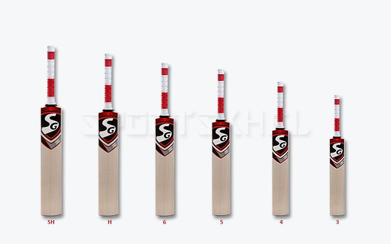 Sg Cricket Bat Size Chart Find Your Right Cricket Bat