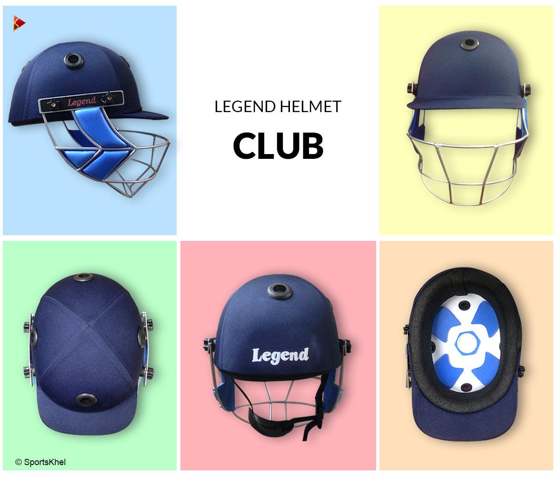 Legend Club Cricket Helmet Closeup Collection
