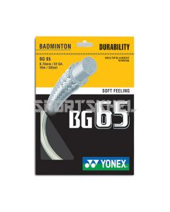 Yonex BG 65 0.70mm Badminton Strings