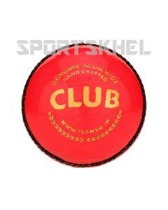 SG Club Pink Cricket Ball