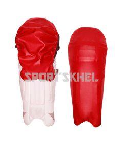 Cricket Legguard Wrap Red