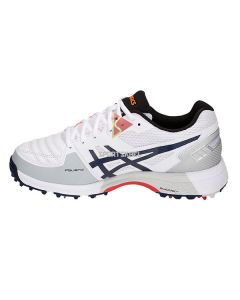 Asics Gel 300 Not Out Spikes Cricket Shoes White Peacoat