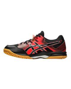 Asics Gel Rocket 9 Shoes Black Fiery Red