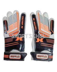 VECTOR X Gripflex Football Goal Keeping Gloves Size 5