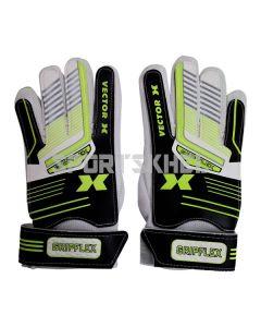 VECTOR X Gripflex Football Goal Keeping Gloves Size 7