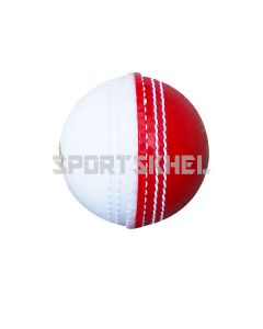 Swift Incredible Prosoft Half Red Half White Cricket Ball