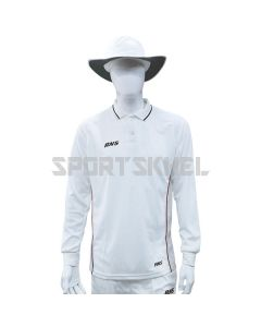 RNS Premium White Full Sleeve Cricket T-Shirt