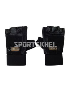 Topsun Protecta Gym Gloves with Belt Large