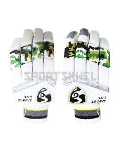 SG Savage Lite Batting Gloves Junior