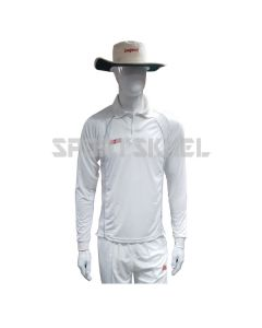 RNS Regular White Full Sleeve Cricket T-Shirt