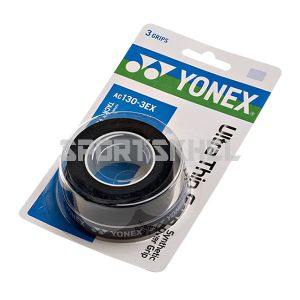 Yonex AC130-3EX Grip (3 Wraps, Black)