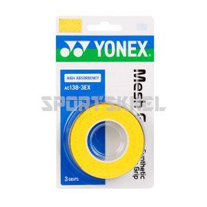 Yonex AC 138 3EX Badminton Grip Citrus Yellow