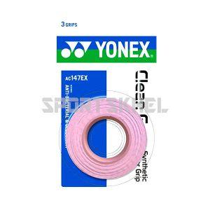 Yonex AC 147 EX Badminton Grip Pink