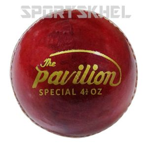 The Pavilion Special Alum Junior 4 3/4 OZ Cricket Ball (6 Balls)