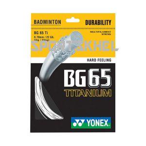 Yonex BG 65 TI 0.70mm Badminton Strings