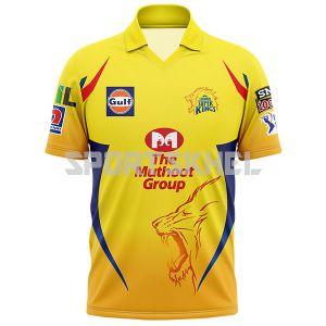 Chennai Super Kings Official t shirt 2019
