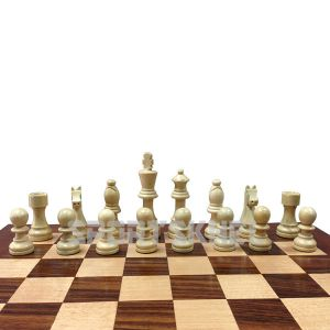 "Triumph Empire Chess Men 3"" Wooden Chess Coin"