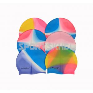 Airavat Classic Multi Colour Swimming Cap