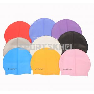 Airavat Classic Single Colour Swimming Cap