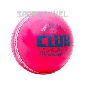SS Club Pink Cricket Ball