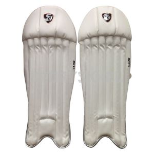 SG Club Wicket Keeping Pads Small Junior