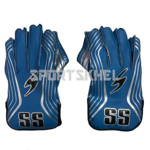 SS College Wicket Keeping Gloves (Boys)