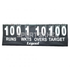 Legend Cricket Scoreboard With Target