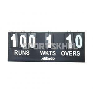 Mikado Cricket Scoreboard Without Target