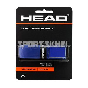 Head Dual Absorbing Tennis Grip (1 Wraps, Blue)