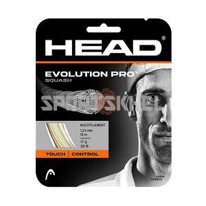Head Evolution Pro Squash Strings 1.21mm