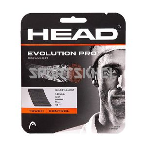 Head Evolution Pro Squash Strings 1.30mm