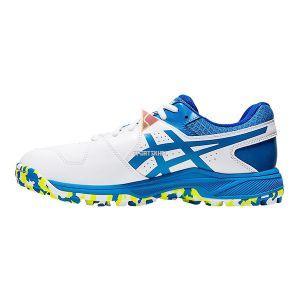 Asics Gel Peake Cricket Shoes White Directoire Blue