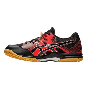 Asics Gel Rocket 9 Shoes Black Fiery Red