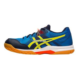 Asics Gel Rocket 9 Shoes Electric Blue Sour Yuzu