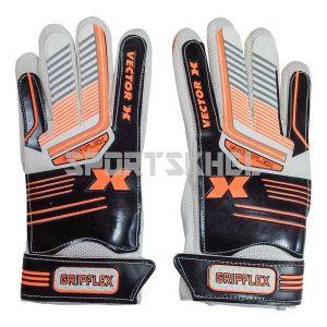 VECTOR X Gripflex Football Goal Keeping Gloves Size 8