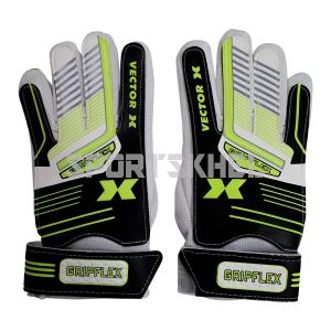VECTOR X Gripflex Football Goal Keeping Gloves Size 7