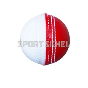 Swift Incredible Prosoft Half Red Half White Cricket Ball