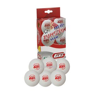 GKI Kung-Fu Plastic ABS 40+ 1 Star White Table Tennis Ball