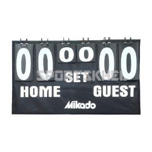 Mikado Multi-Sport Volleyball Badminton Table Tennis Scoreboard