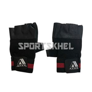 Apex Netted Back Gym Gloves
