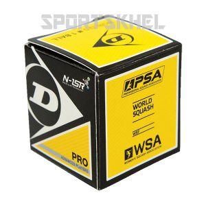 Dunlop Pro Yellow Double Dot Squash Ball