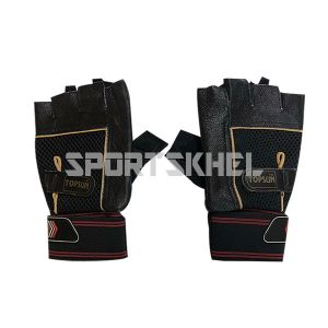 Topsun Protecta Gym Gloves with Belt