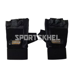 Topsun Protecta Gym Gloves with Belt Extra Large