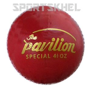 The Pavilion Special Regular Junior 4 3/4 OZ Cricket Ball (6 Ball)