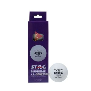 Stag Supreme 40+ 3 Star White Table Tennis Ball