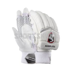 SG Test White Batting Gloves Men