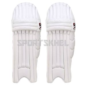 SG Test White Batting Pads Youth