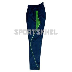 Cenmax Navy Neon Green Trouser