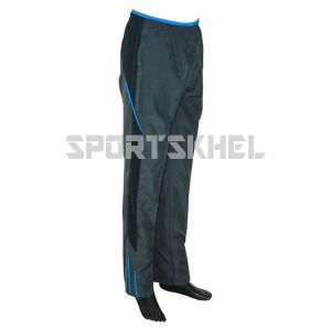 Cenmax Dark Grey Black Aqua Trouser