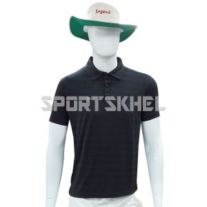 Cenmax Black Half Sleeves T-Shirt